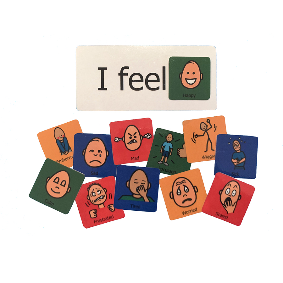 'I Feel' Therapy Cards