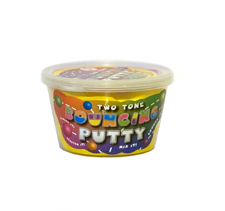 Two Tone Bouncing Putty