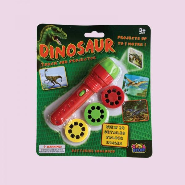 dinosaur torch projector