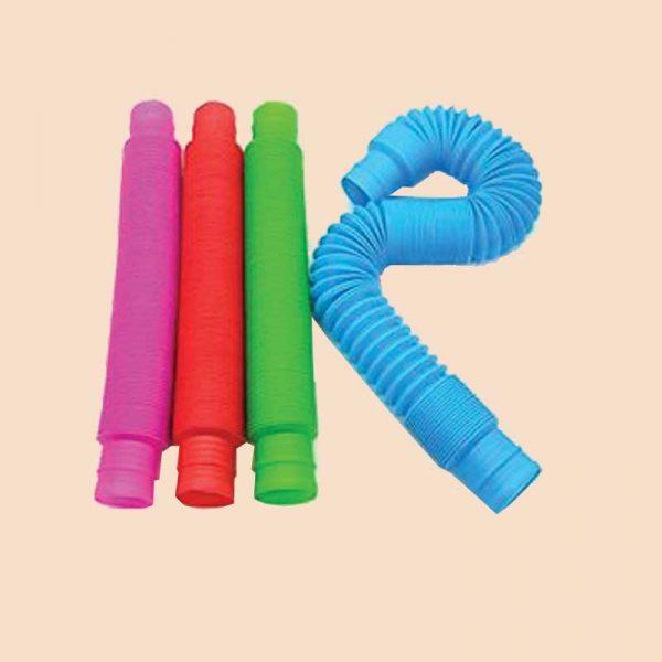 extendable popping tube